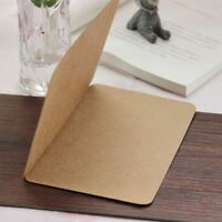 Note Vintage Gift 5PCS DIY Blank Message Card Kraft Paper Greeting Card Craft