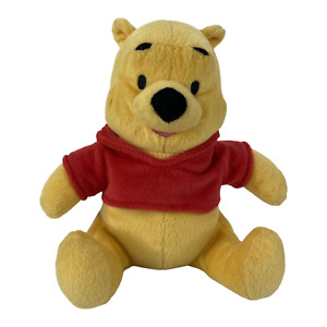 Disney Winnie the Pooh Plush Bear Stuffed Toy Animal Fisher Price 10 in 2001 EUC