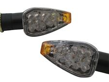 Short Black LED E-Marked Indicators for Suzuki GSF Bandit 600 650 1200 GSX1300