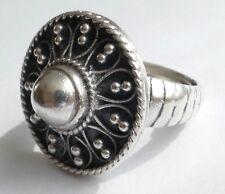 Ring filigrane Arbeit Art Deco Silber Vintage 30er Silver Ring