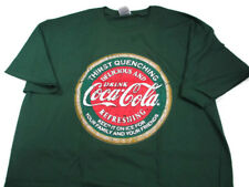Coca-Cola Thirst Quenching Tee T-shirt Green X-Large XL - BRAND NEW
