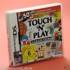 TOUCH 'n' PLAY COLLECTION 50 giochi arcade puzzle retro DS Compatibile 3ds