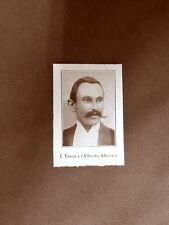 Stampa 1923 I. Trebla (A.Alberti) Collaboratore dell'Illustrazione Italiana