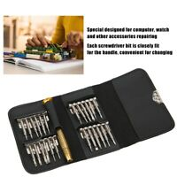 Watchmakers Professional Eyeglasses Watch Screwdriver Precision Repair Tools Set