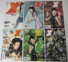 COMPLETE SET OF X-23 #1-6 MARVEL LIMITED SERIES 2005 LAURA KINNEY WOLVERINE