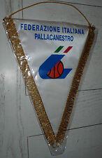 FANION XL BASKETBALL FEDERAZIONE ITALIANA PALLACANESTRO ITALIE BASKET ITALIA