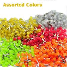 Pack 500Pcs Stainless Steel Curved Barbells w/ Asst Glitter Zircon Acrylic Balls
