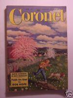 CORONET June 1950 RAY BRADBURY HENDRIK WILLEM VAN LOON INDIA OPERAS HORSES +++