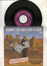 Average Businessmen : Down the nile on a lilo