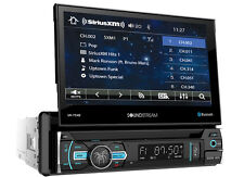 "SOUNDSTREAM VR-75XB CAR 1 DIN DVD CD STEREO BLUETOOTH 7"" MONITOR SIRIUS XM READY"