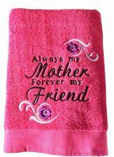 Personalised Floral Bath Towels