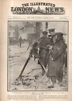 1917 London News March 10 - Hot Soup man runs the Gauntlet; Mesopotamia Roads