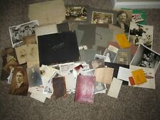 Pittsburgh Pa Area Family Archive Photo Albums Diary Ledger Papers Lot