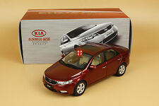 1/18 China KIA FORTE red color diecast model