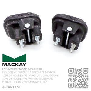 MACKAY ENGINE MOUNTS V6 SUPERCHARGED 3.8L HOLDEN VS-VT-VX-VY COMMODORE/V2 MONARO