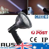 LED 880000lm Rechargeable Spotlight Hunting Hand Held Torch Spot Light 125mm 12V