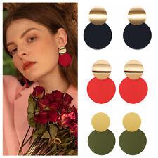 2019 Boho Statement Geometric Circle Metal Earrings Women Fashion Drop Earring