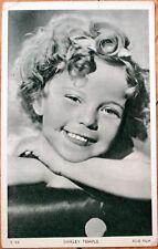 1938 Movie Star Postcard: Shirley Temple - Fox Film - S54