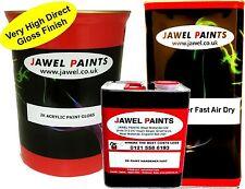 2k Paint Acrylic Car Paint 12.5 lt kit Gloss Volkswagen Tornado Red code Y3D