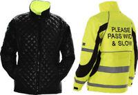 Equisafety Inverno Jacket, Reversible Hi Vis Jacket, Horse Riding Coat