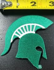 "Michigan State Spartans 3"" x 2.5"" Iron/Sew On Patch~FREE SHIPPING FROM THE USA~"
