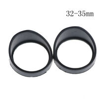 Binocular Rubber Eye Cups Lens Caps for 32-35mm Microscope Eyepieces 2 JF