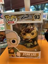 FUNKO!! SDCC 2016 Exclusive Funko Stan Lee Pop Asia 93 Signed !!