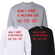 Now I Have a Machine Gun Ho Ho Ho Christmas Jumper Die Hard Xmas Gift 3XL 4XL...