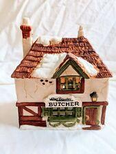 Dept. 56 Abel Beesely Butcher Shop Dickens Village Series. #6515-3