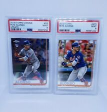 2019 Topps Series 2 Pete Alonso #475 Rookie RC PSA 9 + BONUS Chrome psa 9! METS