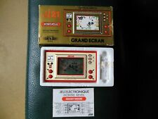 vintage NINTENDO 1981 Japan Game & Watch MICKEY MOUSE Complet fonctionne