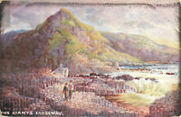 Rare Vintage Postcard - The Giants Causeway - Co. Antrim, N.Ireland Unposted.