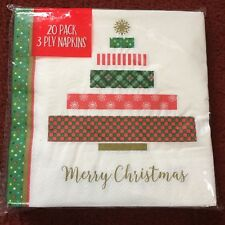 20pk Christmas Themed Napkins