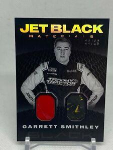 2021 Panini Chronicles Racing Garrett Smithley Jet Black Materials