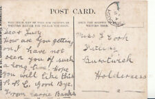Genealogy Postcard - Lucy Cook - Fittling - Burstwick - Holderness - Ref 4724A