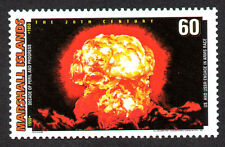 MARSHALL ISLANDS, SCOTT # 702-D, ATOMIC BOMB, USA & USSR ENGAGE IN ARMS RACE,MNH