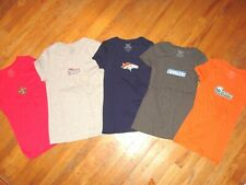 NFL Woman's Short sleeve Shirt Top Sexy Cotton  Pick Color & Sizes ALL TEAMS NEW