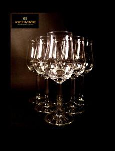6 RASTAL Bugatti Whisky Nosing Tasting Gläser Glas mit Eichstriche I 6er Karton