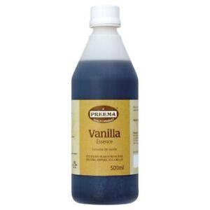 Preema Vanilla Essence 500ml | Catering Size | Culinary flavouring