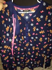 Joe Boxer Womens Pajama Set. Size Large. Blue.