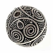 Wikinger-Perle Nr. B13 - Perle Bartperle Haarperle Haarschmuck Wikinger 4mm Loch