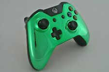 Microsoft Xbox One Wireless Controller Custom Chrome Green
