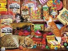 BUFFALO GAMES CATS COLLECTION PUZZLE SWEET SHOP KITTENS STEVE READ 750 PC #17085