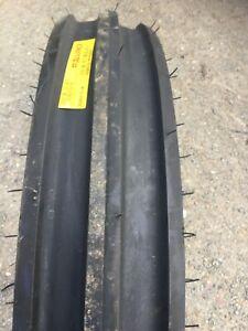 PAIR 600x19 MRL 3 RIB Tractor Tyre