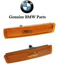 For BMW E36 Z3 Mcoupe Mroadster Front Bumper Side Marker Light Set Left+Right