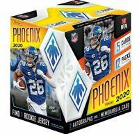 2020 Panini PHOENIX Football HOBBY BOX #9 RANDOM 2-TEAM BREAK Chargers AUTO? SBB