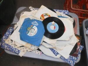 Vintage 45rpm 45 rpm Record Wholesale Dealer Lot Wall Art Man Cave Decorative #2