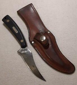 VTG SCHRADE USA SHARPFINGER RARE GUNS & AMMO  SKINNING KNIFE AMERICAN MADE