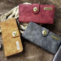 ASQUINO Huawei P9 LITE Tasche Leder Synthetisch Handy Etui Case Hülle Cover