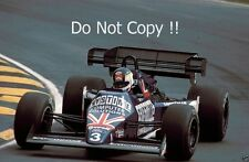 Stefan Johansson Tyrell 012 British Grand Prix 1984 fotografia 2